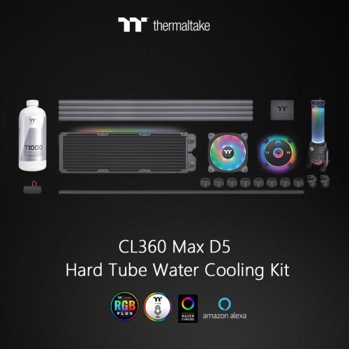 Bild: Thermaltake: Pacific CL360 Max D5 Hard Tube Wasserkühlungs-Kit für höchste Ansprüche