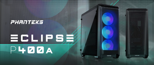 Phanteks Eclipse P400 Air Midi-Tower ab sofort bei Caseking