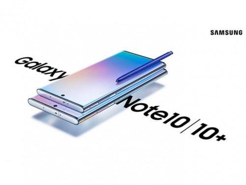 Samsung Galaxy Note 10 mit bis zu 6,8 Zoll großen Display