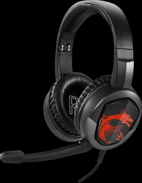 MSI Immerse GH30: Gaming-Headset mit 40-mm-Neodym-Treiber