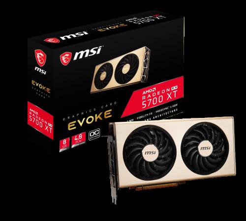 MSI Radeon RX 5700 Evoke- und Mech-Custom-Designs vorgestellt