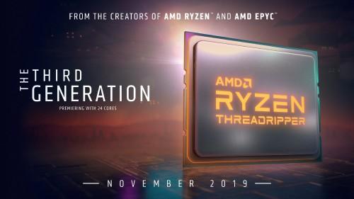 AMDs Ryzen 9 3950X und 3te Generation Ryzen Threadripper erscheinen im November