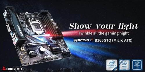 Biostar Racing B365GTQ: Intel-Mainboard im mATX-Format