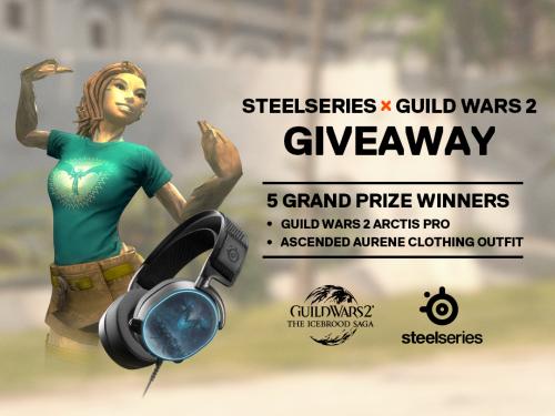 Guild Wars 2: ArenaNet und SteelSeries starten Gewinnspiel zur Eisbrut-Saga