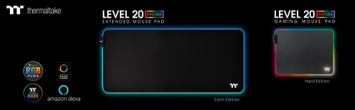 Game in Total Control with the Level 20 RGB Gaming Mouse Pad Series, by Thermaltake Gaming 1