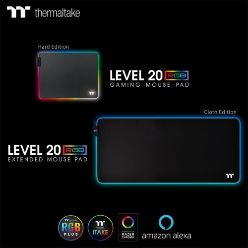 Game in Total Control with the Level 20 RGB Gaming Mouse Pad Series, by Thermaltake Gaming 2