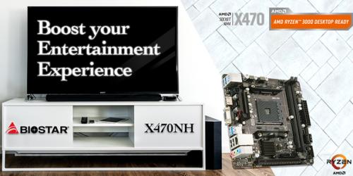 Biostar X470NH: Mini-ITX-Mainboard für Ryzen-CPUs