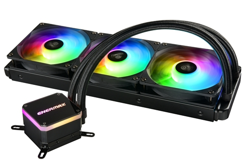 Bild: Enermax Liqmaxx III: ARGB AiO-Wasserkühlung mit Dual-Chamber