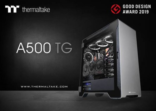 Thermaltake A500 TG gewinnt Good Design Award 2019