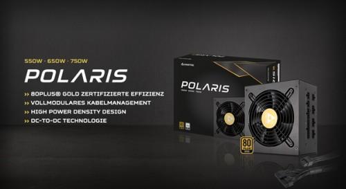 Chieftec Polaris: Vollmodulare Netzteile mit 80-PLUS-Gold-Zertifizierung