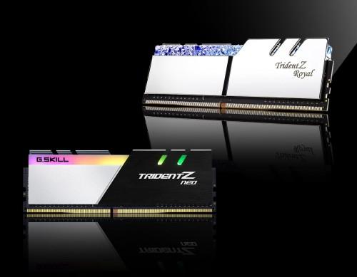 Bild: G.SKILL Trident Z Royal: DDR4-Kits mit bis zu 256 Gigabyte Speicher