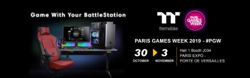 Bild: Thermaltake auf der Pariser Spielewoche 2019
