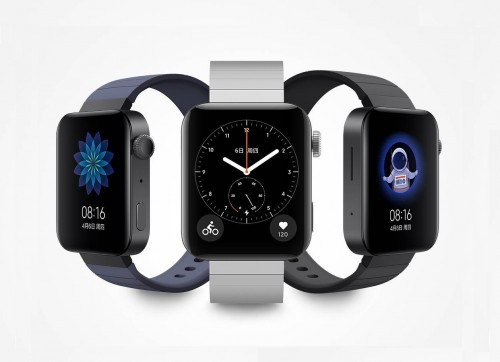 Xiaomi Mi Watch mit MIUI-Interface im Apple Watch-Design