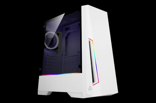 Bild: Antec DP501 White: Minimalistisches Gehäuse mit RGB-Beleuchtung