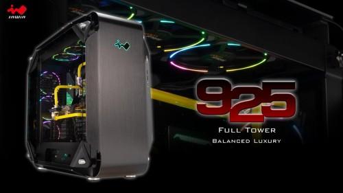 InWin 925: Tower-Gehäuse mit Luxus-Ausstattung