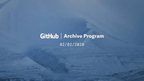 GitHub: Archivierung für 1000 Jahre in der Arktis geplant