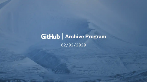GitHub Jahre im Eis