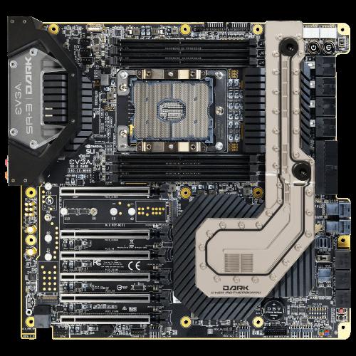 EVGA SR-3: High-End-Mainboard mit C622-Chipsatz