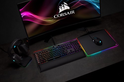 Bild: CES: Corsair K95 RGB PLATINUM XT - Tastatur mit Streaming Deck