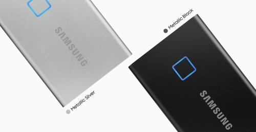 CES: Samsung stellt Portable SSD T7 mit Fingerabdruckscanner vor