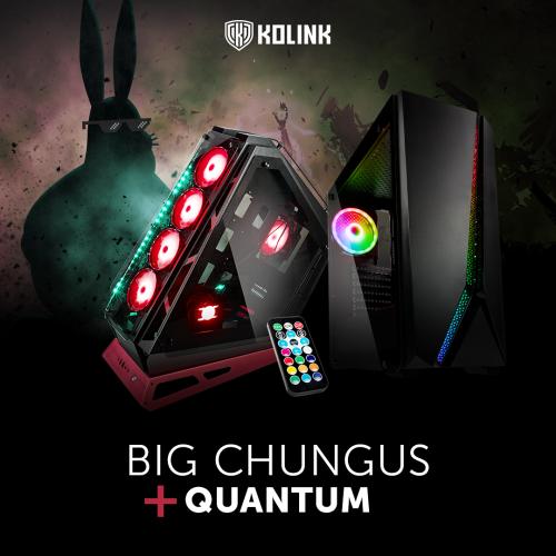Kolink Big Chungus und Quantum: Zwei Gehäuse mit außergewöhnlichem Design