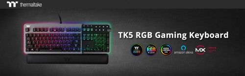 Streamlined for Speed, the 'TK5 RGB Gaming Keyboard' 1