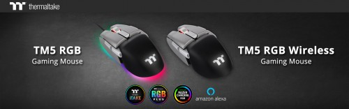 Streamlined for Speed, the 'TM5 RGB' and 'TM5 RGB Wireless Gaming Mice 1