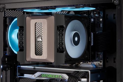 Corsair präsentiert A500 Luftkühler und iCUE RGB Pro XT AiO-Kühlung