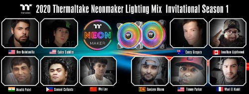 Thermaltake NeonMaker Lightning Mix: Kontest mit der TT-Software