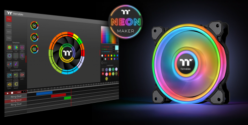 Bild: Thermaltake NeonMaker Lightning Mix: Kontest mit der TT-Software
