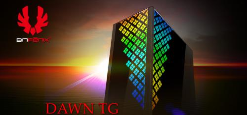 BitFenix und Caseking präsentieren das Dawn TG Gehäuse
