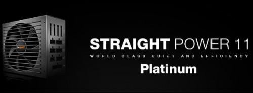 Straight Power 11 Platinum: Neuauflage des beliebten Netzteils von be quiet!