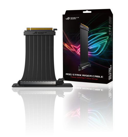 ROG Strix Riser Cable 3D 11 with Color Box web