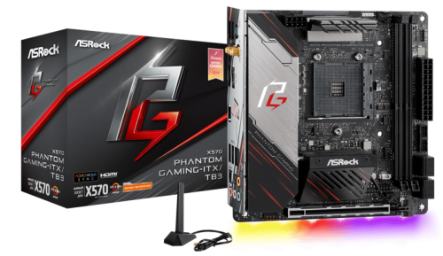 X570 Phantom Gaming ITXTB3 Thunderbolt 3