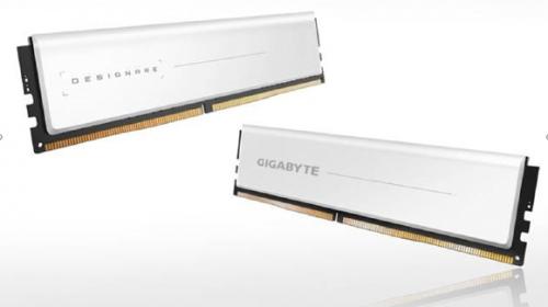 Gigabyte stellt Designare DDR4-RAMs mit weißen Heatspreader vor
