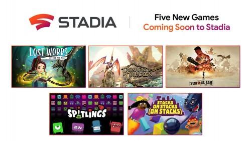Google erweitert Stadia um fünf neue Spiele