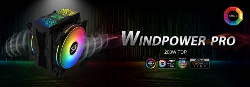 Xigmatek Windpower Pro: CPU-Kühler mit RGB-Abdeckung