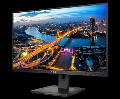 Philips 243B1: LCD-Monitor mit FullHD-Auflösung und USB-C-Dock