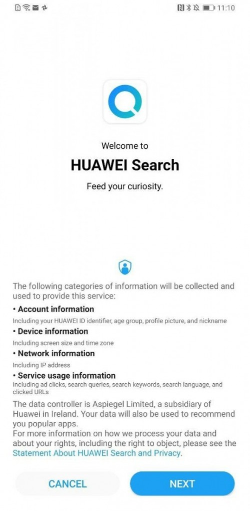 Huawei Search Light Theme 4