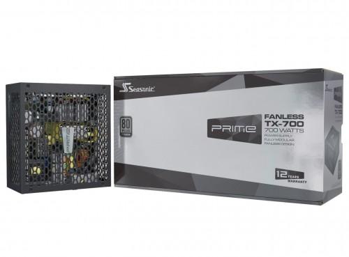 Bild: Seasonic Prime TX/PX: Netzteile ohne Lüfter mit bis zu 700 Watt