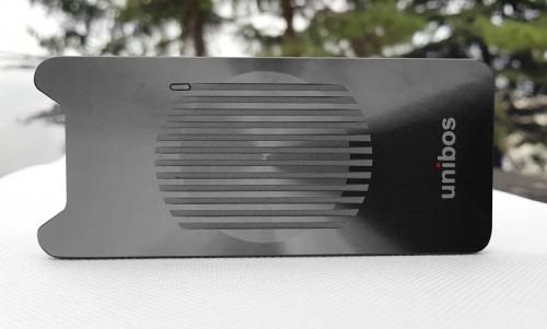 unibos BR-TB3-X4: Externes Gehäuse für NVMe-SSDs