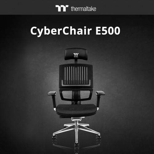 Thermaltake CyberChair E500: Ergonomisch-futuristischer Büro- und Gamingst