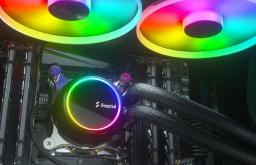 Fractal Design Celsius+: Neue AiO-Wasserkühlungsserie mit ARGB-Beleuchtung