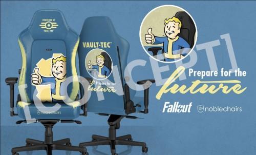 Noblechairs und Bethesda arbeiten gemeinsam an Gaming-Stühlen