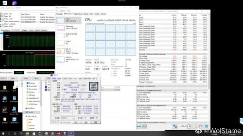 Intel Core i9-10900F kann bis zu 224 Watt aus der Steckdose ziehen