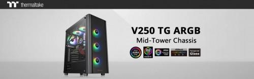 Thermaltake V250 TG ARGB: Mid-Tower mit allen wesentlichen Funktionen