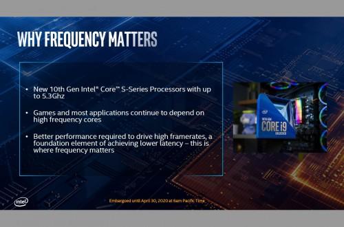 Intel 10th Gen vorgestellt: Bei 5,3 GHz die schnellste Gaming-CPU der Welt