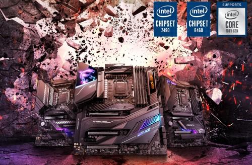 MSI LGA 1200: Die neuesten Mainboards mit 400er-Chipsätzen