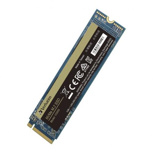 Verbatim: Neue M.2-SSDs als NVMe- und SATA-Varianten