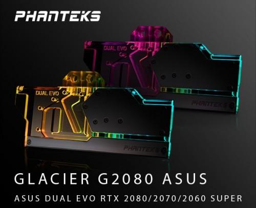 Phanteks Glacier G2080 für Asus Dual EVO RTX SUPER